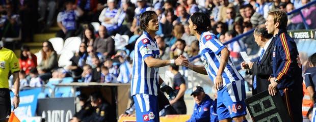 Dépor 0 - Levante 2. Lesión Zé Castro