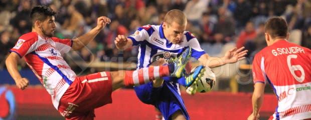 Deportivo_Granada_Alex_Bergantiños_Nolito