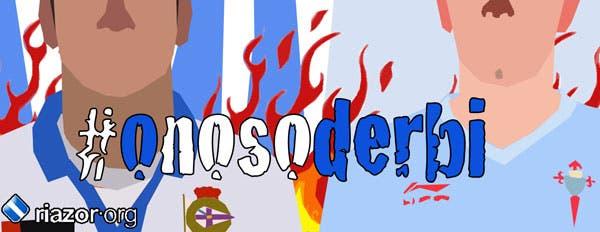 Banner R.C.Deportivo - Celta #onosoderbi
