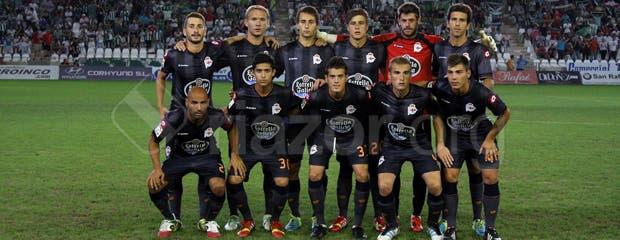 Once inicial del Deportivo en Copa del Rey