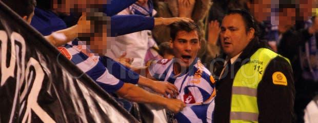 Depor_RMadridB_Luis_Fernandez_publico_gol