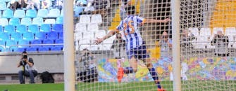 Depor - Recreativo - Gol de Juan Carlos