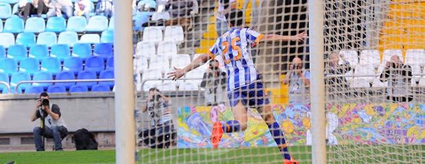 Depor - Recreativo - Gol de Juan Carlos