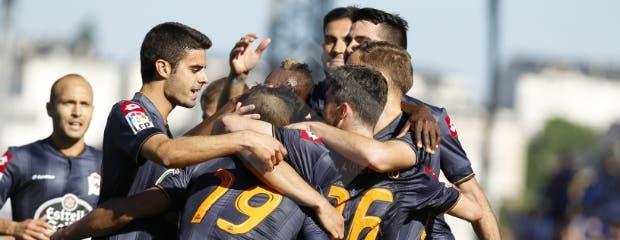 Celebracion Gol - Lugo
