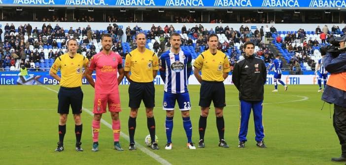 Lopo ejerció en más de una ocasión como capitán del Dépor || Foto: Fernando Fernández
