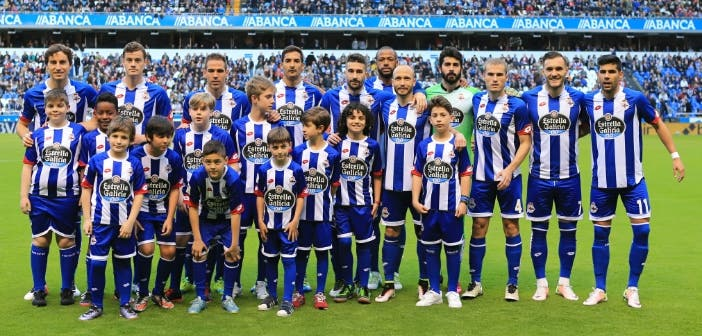 Foto equipo Deportivo-Barcelona