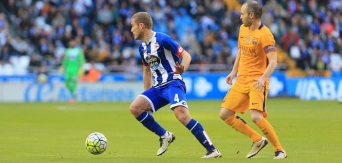 Bergantiños Iniesta Deportivo-Barcelona