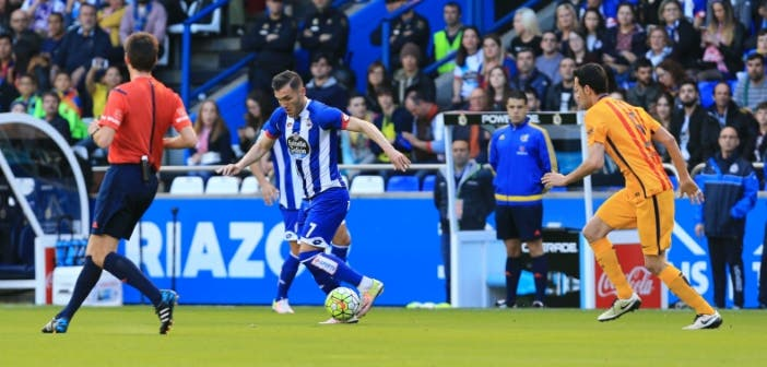 Lucas Busquets Deportivo-Barcelona