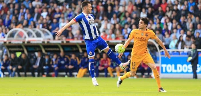 Lucas Bartra Deportivo-Barcelona