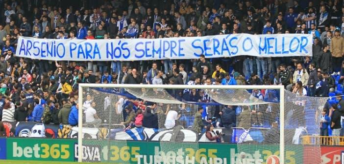 Arsenio homenaje 1 Deportivo-Real Madrid