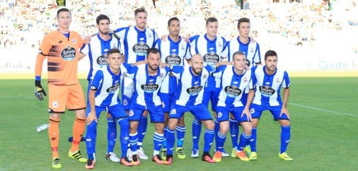 Once inicial Racing de Ferrol - Deportivo