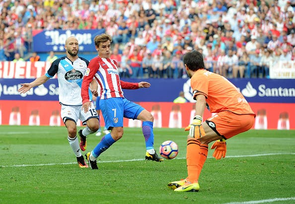 Griezmann sería el salvador del Atlético otra vez más.