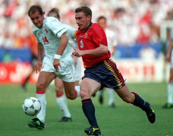 Jorge Otero en el Mundial del 94'