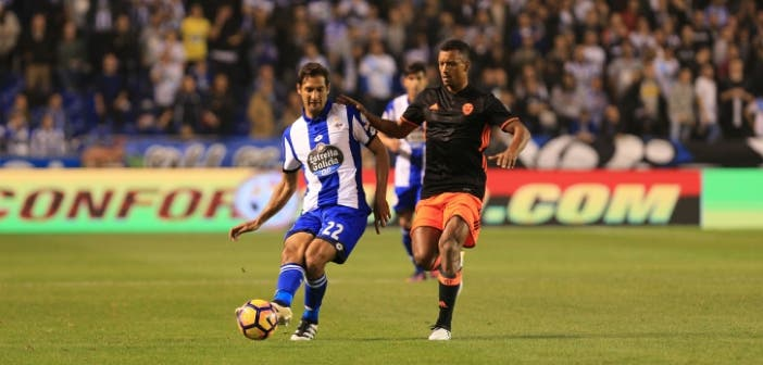 Deportivo - Valencia - Celso Borges