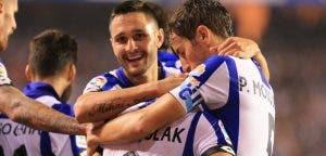 Deportivo - Valencia - Florin Andone - Mosquera