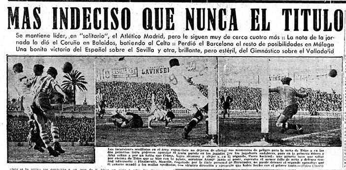 Portada de Mundo Deportivo del lunes 13 de marzo de 1950