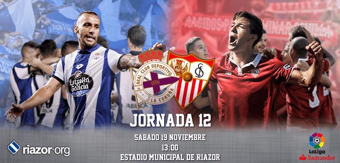 Jornada 12 Liga Santander Deportivo de La Coruña Sevilla
