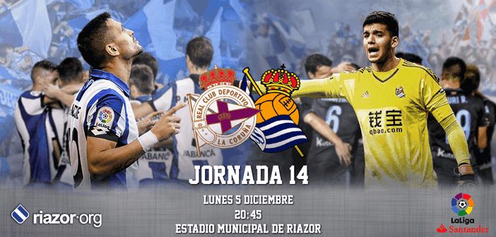 Jornada 14 Liga Santander 2016 2017 Deportivo de La Coruña Real Sociedad