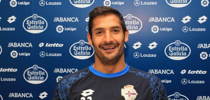 Celso Borges, centrocampista del Deportivo