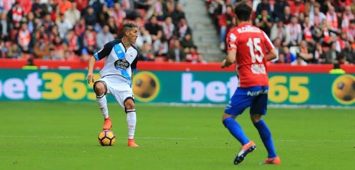 Fayçal Fajr - Sporting de Gijón vs Deportivo