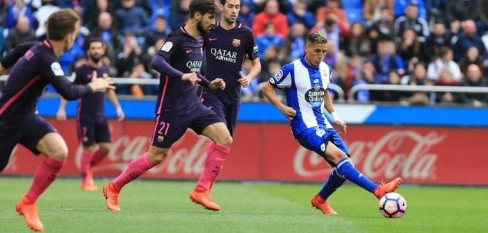 Fajr - Deportivo vs Barcelona