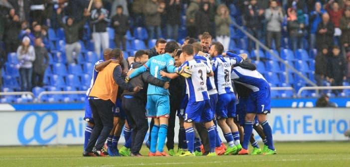 Jugadores victoria Deportivo vs Barcelona