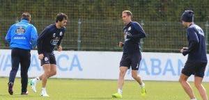 Entrenamiento Deportivo: Alejandro Arribas y Fernando Navarro