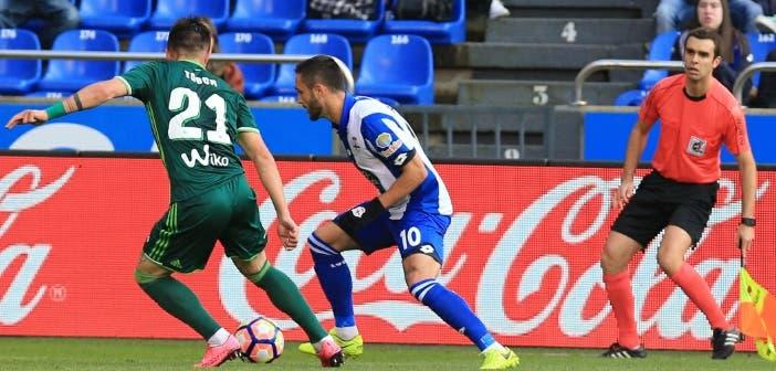 Florin Andone - Dépor vs Betis