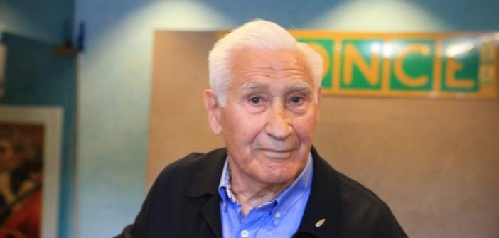 Arsenio Iglesias en Fundación ONCE