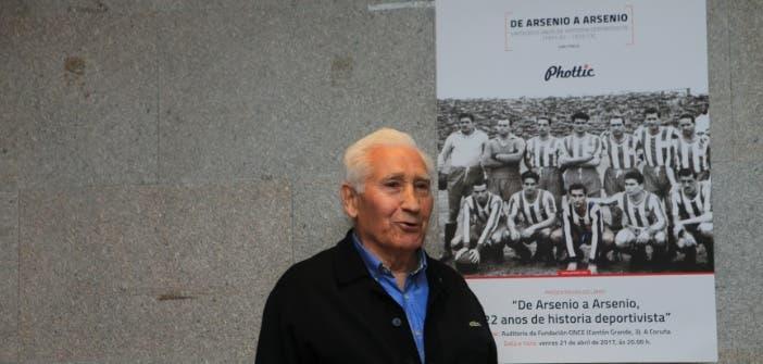 Arsenio Iglesias presentación libro