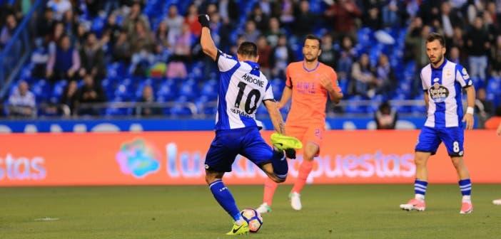 Deportivo vs Granada: Florin Andone