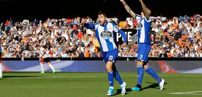 Valencia vs Deportivo: Carles Gil