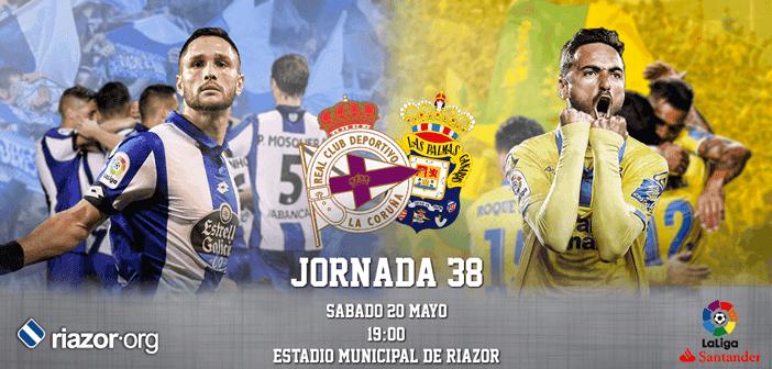 Jornada 38 Liga Santander Deportivo de La Coruña UD Las Palmas