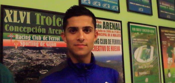 Bicho jugó los 90 minutos frente al Racing de Ferrol