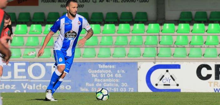 Guilherme contra el Racing Vilalbés