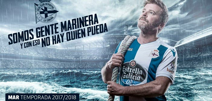 Camiseta Deportivo Macron 2017/2018