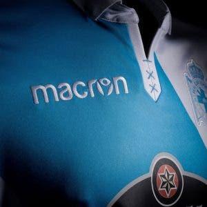 Cuello Camiseta Deportivo Coruña - segunda equipacion 17/18