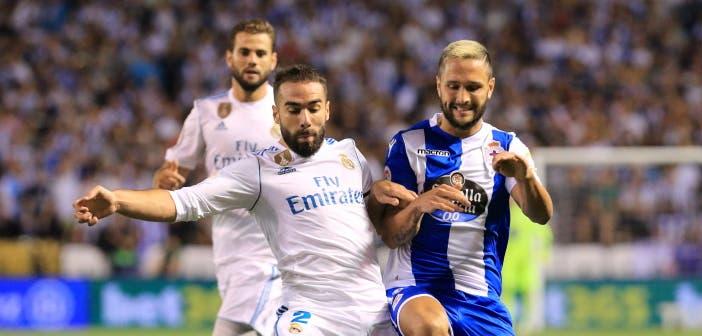 Florin Andone y Carvajal: Deportivo-Real Madrid