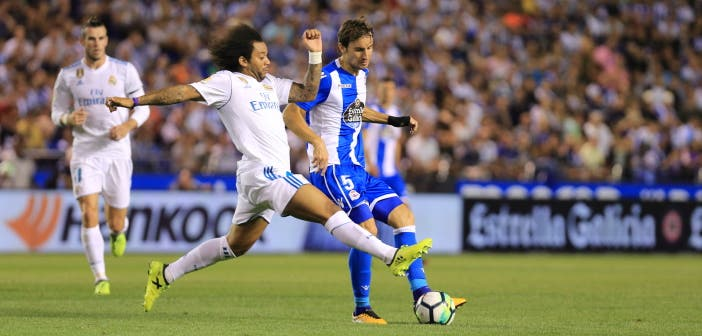 Pedro Mosquera : Deportivo - Real Madrid