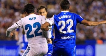 Celso Borges: Deportivo - Real Madrid