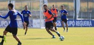 Celso Borges entrenamiento Deportivo Coruña 22 de agosto 2017