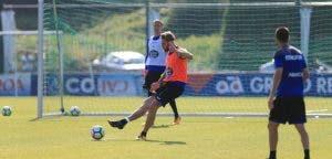 Albentosa entrenamiento Deportivo Coruña 22 de agosto 2017