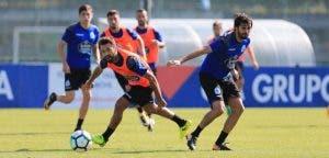 Bruno Gama y Arribas: entrenamiento Deportivo Coruña 22 de agosto 2017