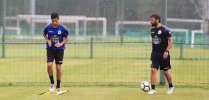 Bicho entrenando - Entrenamiento Deportivo - 25 de agosto
