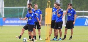 Bakkali, Celso Borges, Arribas - Entrenamiento Deportivo - 25 de agosto