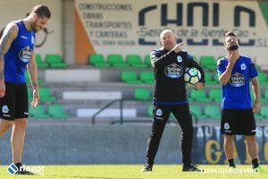 Pepe Mel entrenamiento en Vilalba