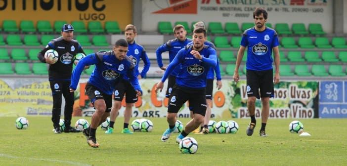 Bakkali y Borja Valle haciendo carrera en entrenamiento Vilalba del 8 de agosto 2017