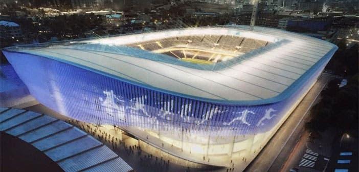 Así será la fachada del estadio de riazor