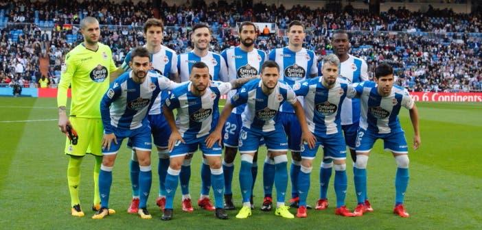 Once inicial del Deportivo en el Bernabéu