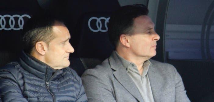 Cristóbal y Manjarín en el Bernabéu